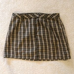 J. Crew Skirts - J. Crew UP-CYLCED Plaid Skirt